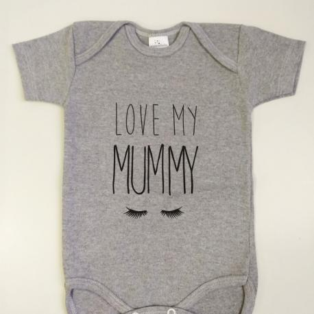 "Body bebé ""Love my mummy"" Maminébaba"