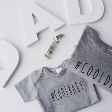 "Pack camiseta y body ""Dad & Baby"""