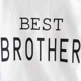 Camiseta niño BEST BROTHER - Maminébaba