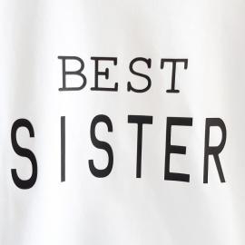 Camiseta niña BEST SISTER - Maminébaba