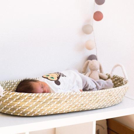 Cambiador Bebé de Fibra Natural