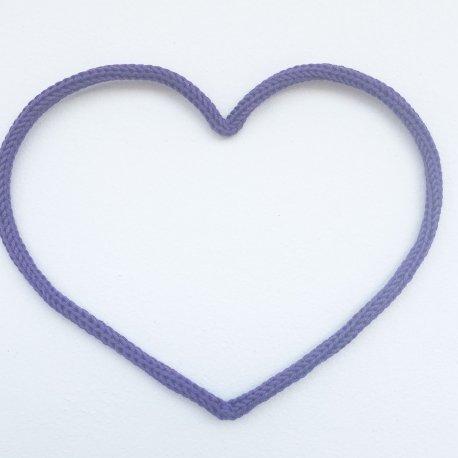 Cœur en tricotin de Maminébaba
