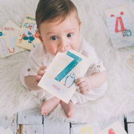 Cartes étapes première année de bébé – Happy Baby Pics