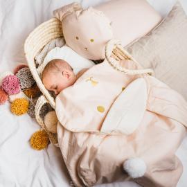 """Couverture d'hiver pour bébé """"Bunny"""""""