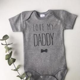 """Pack camiseta y body 100% algodón """"Dad & Baby"""""""