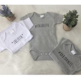 Body bebé personalizado - Maminébaba